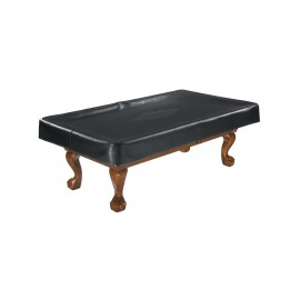 TABLE COVER 9' BLK BRANDED