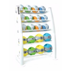 MEDICINE BALL RACK WHITE...