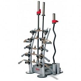 VIPR Training Bar Rack Silver