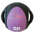20LB SPIN FIT MED BALL DUAL...