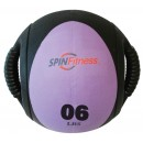 6LB SPIN FIT MED BALL DUAL...