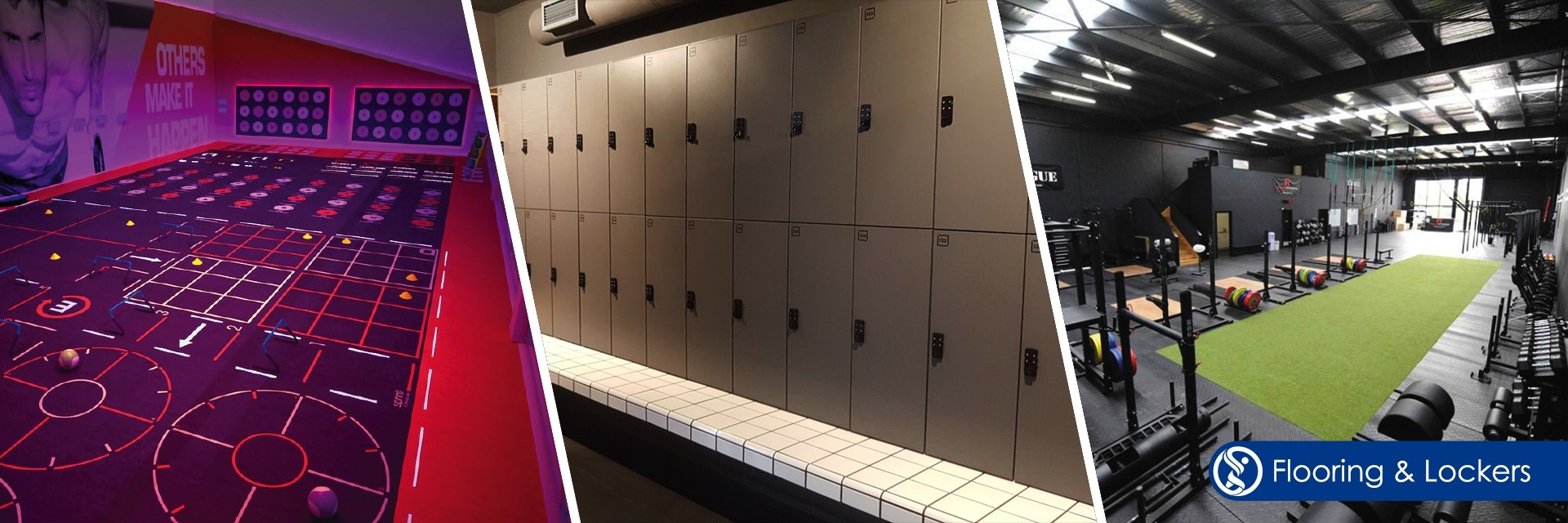 Flooring and Lockers